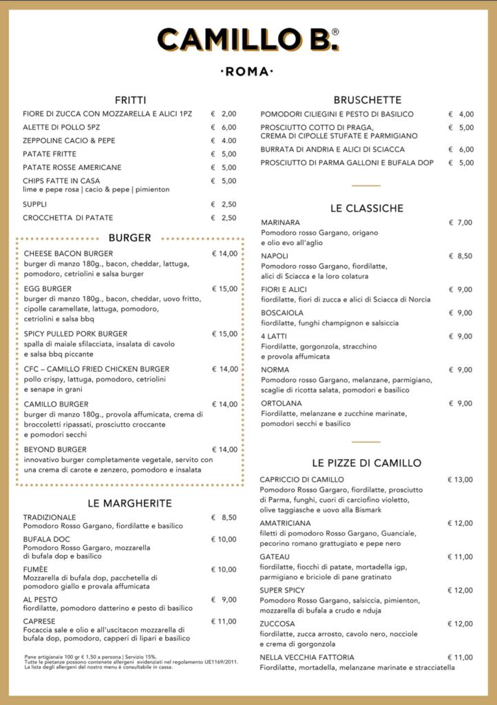 Pizzeria Camillo B.